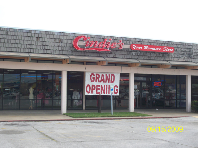 Cindie's Adult Novelty Store in Beaumont