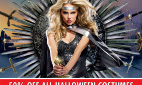 50% Off All Halloween Costumes