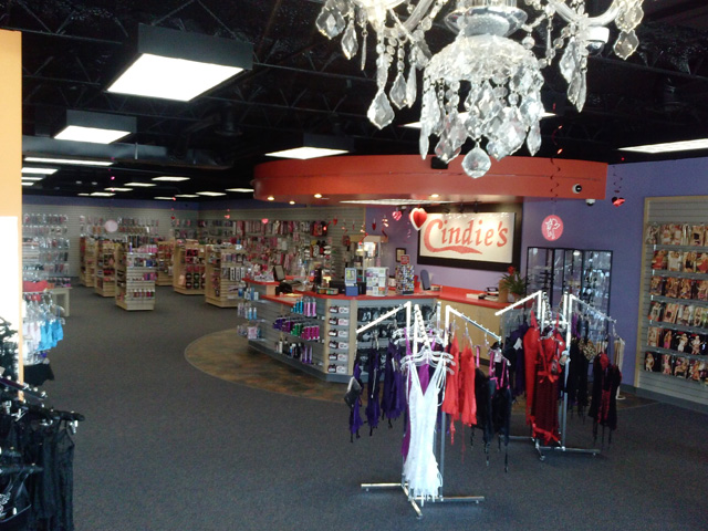 Cindie's Adult Novelty Store in Lubbock
