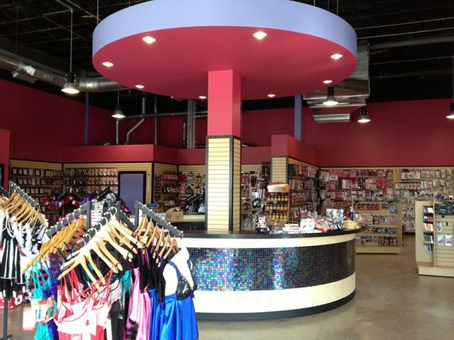 Cindie's Adult Novelty Store on Washington Ave