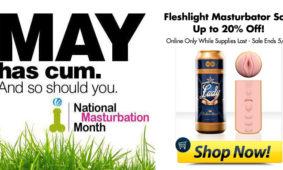 Fleshlight Sale for Masturbation Month