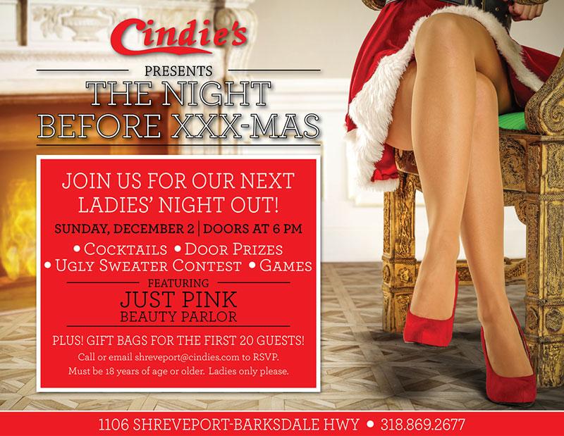 XXXmas Ladies Night Out - Shreveport
