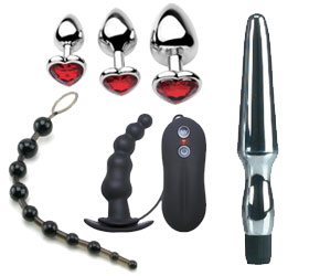 Anal Toys at Cindies