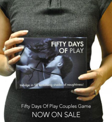 Fifty Days of Play now on sale