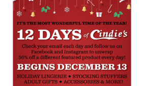 The 12 Days of Cindie